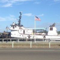 Photo taken at Coos Bay Boardwalk by Troy Sterling W. on 9/6/2013