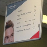 Photo taken at Great Clips by TD H. on 8/24/2013