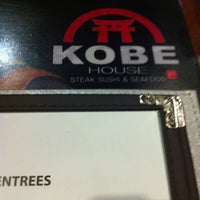 Photo taken at Kobe Japanese Steak & Seafood by Eliette C. on 12/30/2012