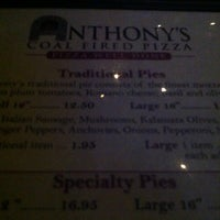 Photo taken at Anthony's Coal Fired Pizza by Eliette C. on 11/18/2012