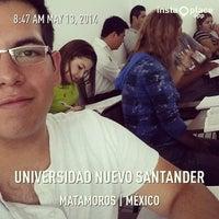 Photo taken at Universidad Nuevo Santander by Gerardo P. on 5/13/2014