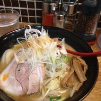 Photo taken at 麺処 花田 渋谷店 by akiko n. on 10/1/2014