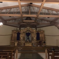 Photo taken at Holy Cross Parish by Arianne D. on 3/24/2016