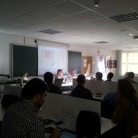 10/26/2012にCristina T.がInstituto de Formación Empresarial de la Cámara de Madrid (IFE)で撮った写真