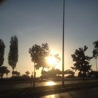 Photo taken at Havaş Ege Park İstasyonu by esraben on 9/4/2014