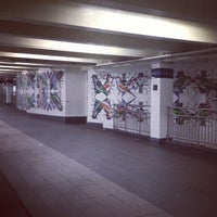 Photo taken at MTA Subway - Jay St/MetroTech (A/C/F/R) by Katie G. on 1/20/2013
