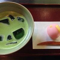 Photo taken at 日本庭園茶室 彩翔亭 by shg on 7/26/2014