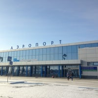 Photo taken at Omsk Central International Airport (OMS) by Marina Z. on 2/17/2013