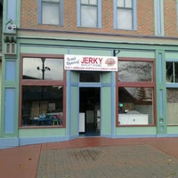 Photo taken at Up North Jerky Outlet - Mackinaw Crossings by John B. on 11/8/2012