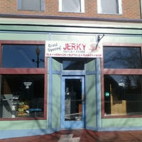 Photo taken at Up North Jerky Outlet - Mackinaw Crossings by John B. on 11/16/2012