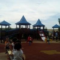 Photo taken at Las Rozas Village Children's Park by Enrique E. on 8/15/2013