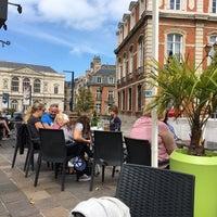 Photo taken at Cafe De La Mairie by Jurgen B. on 8/15/2017