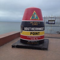 Photo taken at Southernmost Point Buoy by Jeff H. on 12/14/2012