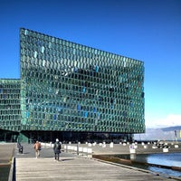 Photo taken at Harpa by Nathan W. on 9/6/2013