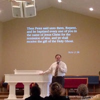 Photo taken at New Life Pentecostal Church by Josh S. on 1/27/2013