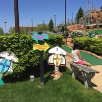 Photo taken at Congo River Miniature Golf by Laura L. on 5/8/2016