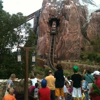 Photo taken at Expedition Everest by Fabio A. on 12/3/2012