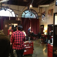 Photo taken at The Den Salon by Chris C. on 3/14/2013
