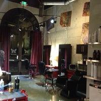 Photo taken at The Den Salon by Chris C. on 1/25/2013