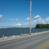 Photo taken at Sandusky Bay by Rodney R. on 9/23/2012