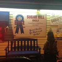 Photo taken at Sugar Hill Sub & Deli by Esha G. on 12/9/2012