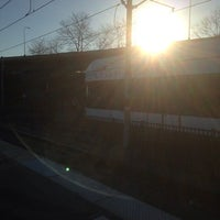 Photo taken at NJT - Liberty State Park Light Rail Station by ALBD on 4/10/2014
