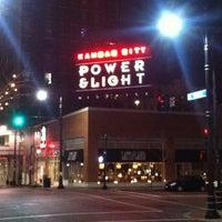 Photo taken at Kansas City Power & Light District by Luis C. on 11/24/2012