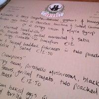 Снимок сделан в Juniors Deli Cafe пользователем Paul M. 11/3/2012