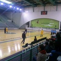 Photo taken at Matosinhos Sport - Pavilhão Municipal by Carla R. on 11/24/2012