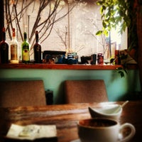 Photo taken at Cafe B by merz on 4/24/2013