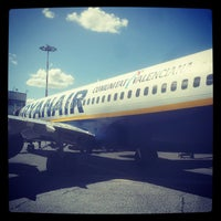 Photo taken at Rome Ciampino Airport by Andrea M. on 5/19/2013