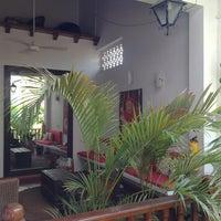 Photo taken at Hotel Casa del Curato Cartagena de Indias by Ronald V. on 2/16/2013