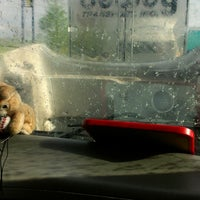 Photo taken at Blue Beacon Truck Wash by April T. on 5/6/2013