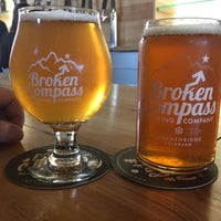 Photo taken at Broken Compass Brewing by Aaron H. on 3/3/2017