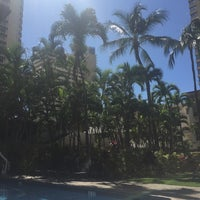 Photo taken at Royal Garden at Waikiki Hotel by Jenn O. on 2/17/2017
