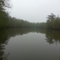 Photo taken at Tickfaw River by Andrea P. on 3/23/2013