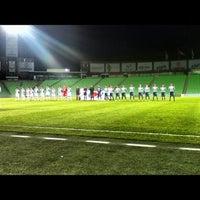 Photo taken at Territorio Santos Modelo Estadio by Abraham U. on 12/2/2012
