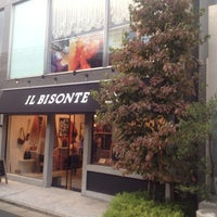 Photo taken at IL BISONTE 表参道店 by santa n. on 9/29/2012
