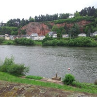 Photo taken at Moselufer by Sven W. on 5/10/2014