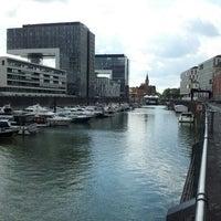 Photo taken at Köln Marina by Sven W. on 8/24/2014