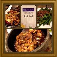 Photo taken at Crystal Jade Kitchen (翡翠小厨) by Jessy Q. on 2/7/2013