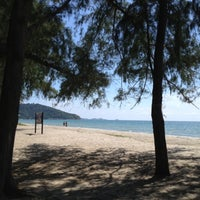 Photo taken at Mae Rumphueng Beach by Numfon T. on 11/24/2012