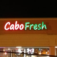 Photo taken at Cabo Fresh Mexican Grill by Luis T. on 1/25/2013