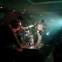 Photo taken at Manhattan Café Theatro by Moises T. on 11/17/2012