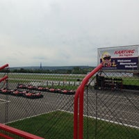 Photo taken at Karting des Fagnes by Coeymans Q. on 5/26/2014