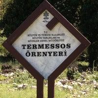 4/28/2013 tarihinde Kerem ♥.ziyaretçi tarafından Termessos'de çekilen fotoğraf