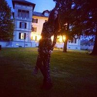 Photo taken at Villa La Bollina by Ann K. on 4/12/2014