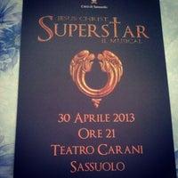 Photo taken at Teatro Carani by Tina D. on 4/18/2013
