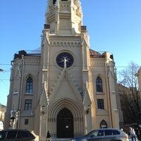 Снимок сделан в Лютеранская церковь Святого Михаила пользователем NICK M. 3/12/2013