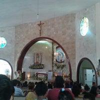 Photo taken at Iglesia De La Sagrada Familia by Diana S. on 4/20/2014